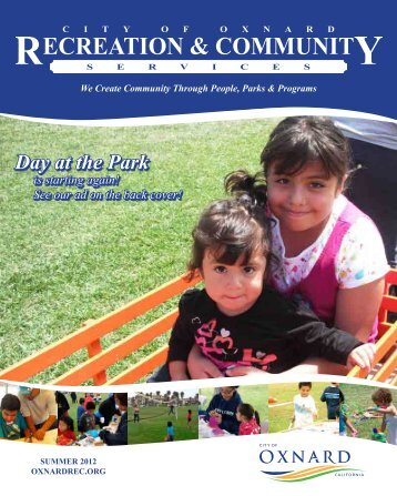 Day at the Park - Recreation and Community Services