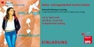 einladung - Kultur- und Schulservice München