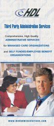 Third Party Administration Services - eHDL