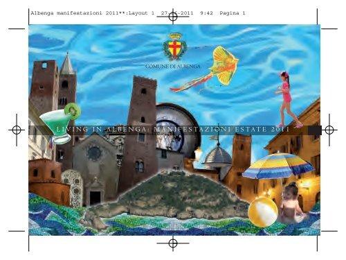 Albenga manifestazioni 2011**:Layout 1 - Comune Albenga