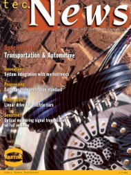 Special topic: Transportation & Automotive Special ... - HARTING USA