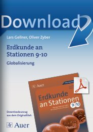 Erdkunde an Stationen 9-10
