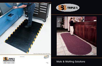 Mats & Matting Solutions - Triple S