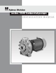 series 1530 horizontal pumps - Pristine Water Solutions Inc