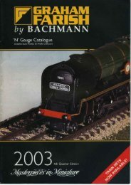 Graham Farish (Bachmann) 2003 Catalogue
