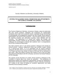 Promotion Guidelines for Academic Ranks, Promotions and ...