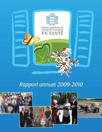 Rapport annuel 2009-2010 - Réseau québécois des villes et ...