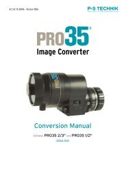 1 Basic conversion - P+S TECHNIK