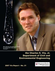 Annual Report Year 2007 - Civil and Environmental Engineering