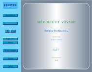 mémoire et voyage - Equivalences.org