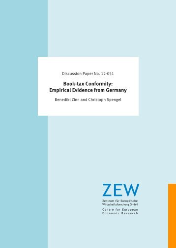 Book-tax Conformity: Empirical Evidence from Germany