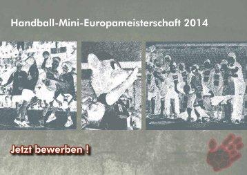 Handball-Mini-Europameisterschaft 2014 Jetzt ... - Handball-Mini-EM