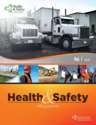 Health and Safety Magazine, Vol 11 Issue 2 - Infrastructure Health ...