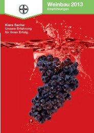Weinbau 2013 - Bayer CropScience Deutschland GmbH