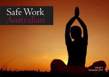 ISSUE 5 December 2010 - Safe Work Australia