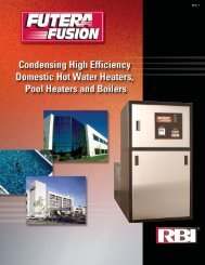 RBI Fusion brochure - California Boiler