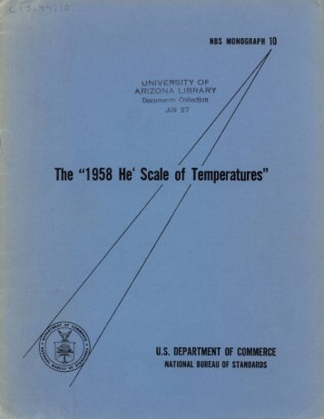 "The ""1958 He4 Scale of Temperatures"" - Digital Collections"