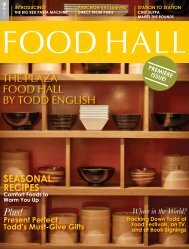 The Plaza Food hall by Todd english - HauteLife Press