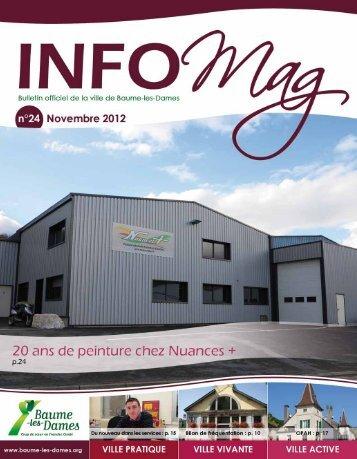 Info Mag n°24 - Baume-les-Dames