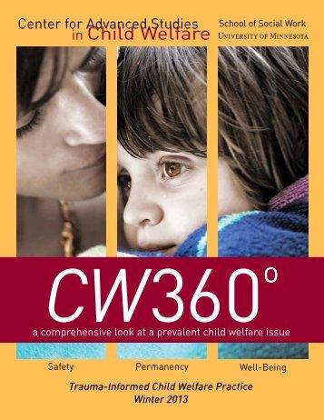in Child Welfare - The Trauma Center