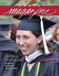 Fulfilling His Purpose - Grace College and Seminary