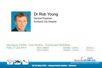 Managing COPD - Case Studies