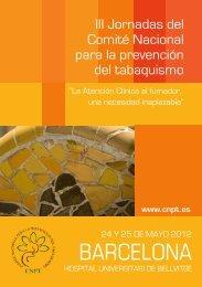 Programa de las III Jornadas del Comité Nacional para ... - SEH-Lelha