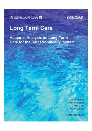 Long Term Care - MS Australia