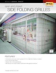 SIDE FOLDING GRILLES - Clopay