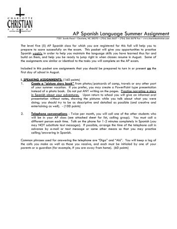 ap language summer assignment Click for details - ap language and composition summer reading this assignment is due 2 weeks after school begins, but we have posted it in case you want to work on it over the summer-which we strongly encourage.