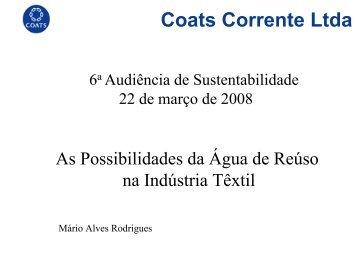 Mario Alves Rodrigues - Coat Corrente - Sabesp
