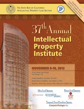 Intellectual Property Institute - Intellectual Property Law