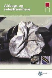 Airbags og selestrammere - Industriens Branchearbejdsmiljøråd