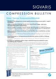 Compression Bulletin 16 - Sigvaris
