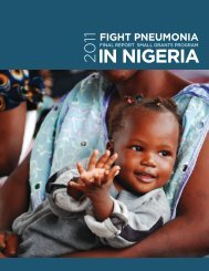 IN NIGERIA - World Pneumonia Day