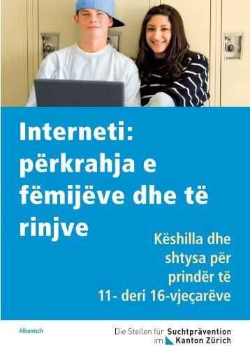Interneti: përkrahja e fëmijëve dhe të rinjve - Migesplus