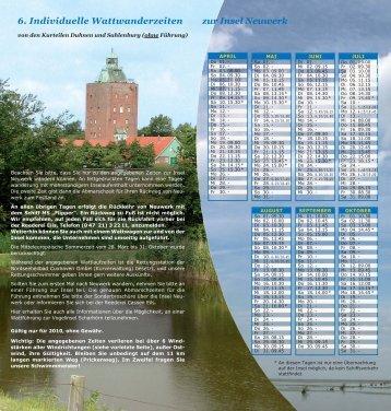 Wattwanderungen zur Insel Neuwerk - Cuxhaven