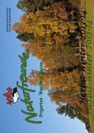 Programm Herbst-Winter 2013/14 - Termine... - Naturfreunde