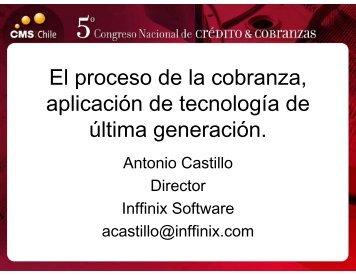 El proceso de la cobranza, aplicación de tecnología de ... - SINACOFI