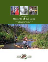 Trappers: Stewards of the Land - Fur Institute of Canada