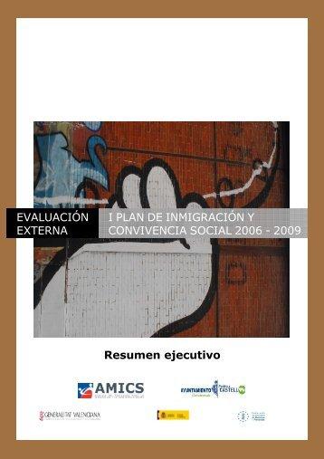 Resumen ejecutivo Evaluacion - Ayuntamiento de Castellón