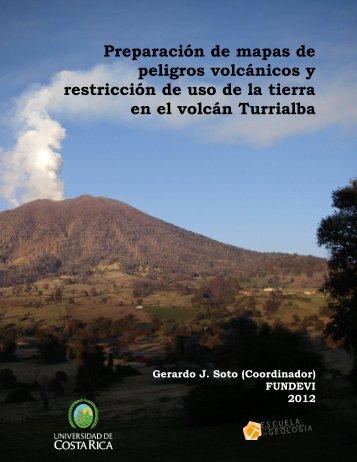Peligros y restricciones volcan Turrialba