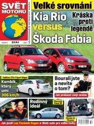 Kia Rio Škoda Fabia Velké srovnání Bourali jste a ... - Svět motorů