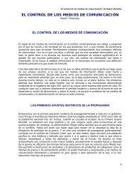 El control de los medios de comunicación - del Kolectivo Conciencia ...