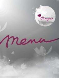 Nowa letnia Karta Menu w Restauracji Cafe Oranżeria - oferta pdf