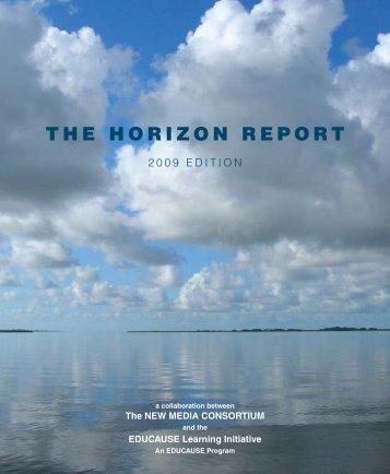 2009 Horizon Report - New Media Consortium