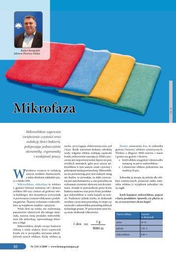 Mikrofaza - Firma Sprzątająca