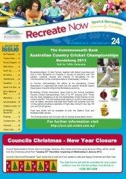Councils Christmas - New Year Closure - Bundaberg Regional ...