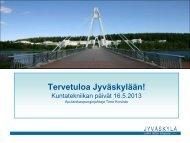 Jyväskylän kaupungin tervehdys - Kuntatekniikka