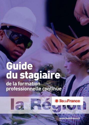Guide du stagiaire - Ile-de-France